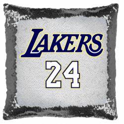Подушка-хамелеон Lakers 24