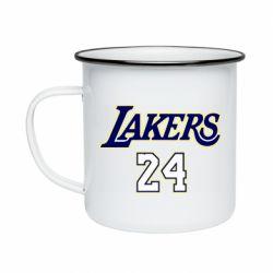 Кружка эмалированная Lakers 24