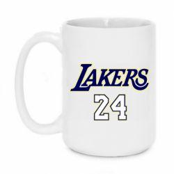 Кружка 420ml Lakers 24