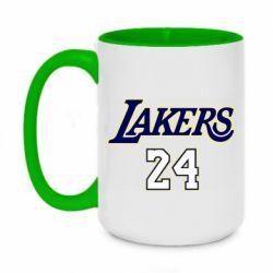 Кружка двухцветная 420ml Lakers 24