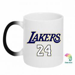 Кружка-хамелеон Lakers 24