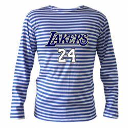 Тельняшка с длинным рукавом Lakers 24