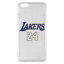 Чехол для iPhone 6 Plus/6S Plus Lakers 24
