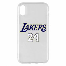 Чехол для iPhone X/Xs Lakers 24