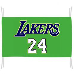 Флаг Lakers 24