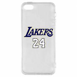 Чехол для iPhone5/5S/SE Lakers 24
