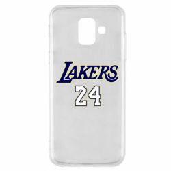 Чехол для Samsung A6 2018 Lakers 24