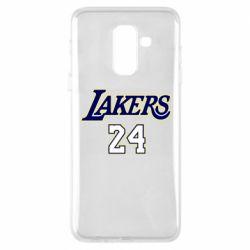 Чехол для Samsung A6+ 2018 Lakers 24