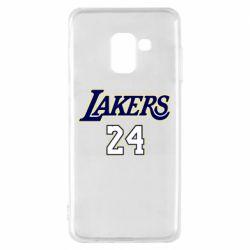 Чехол для Samsung A8 2018 Lakers 24