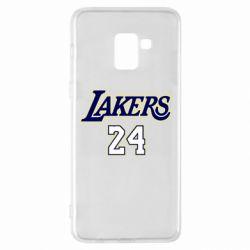 Чехол для Samsung A8+ 2018 Lakers 24