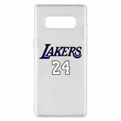 Чехол для Samsung Note 8 Lakers 24