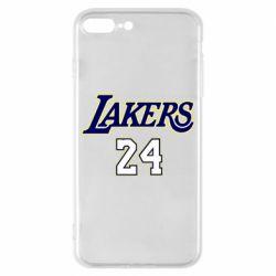 Чехол для iPhone 8 Plus Lakers 24