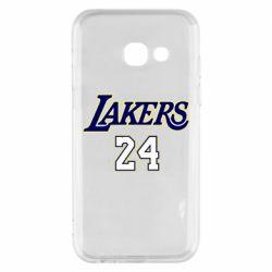 Чехол для Samsung A3 2017 Lakers 24