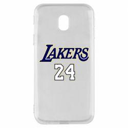 Чехол для Samsung J3 2017 Lakers 24