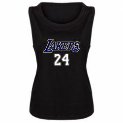 Женская майка Lakers 24