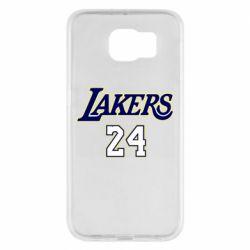 Чехол для Samsung S6 Lakers 24