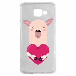Чохол для Samsung A5 2016 Lama with heart