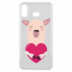 Чохол для Samsung A6s Lama with heart