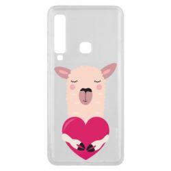 Чохол для Samsung A9 2018 Lama with heart