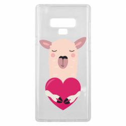Чохол для Samsung Note 9 Lama with heart