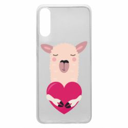 Чохол для Samsung A70 Lama with heart