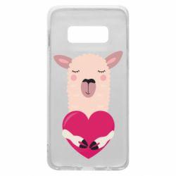 Чохол для Samsung S10e Lama with heart