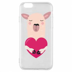 Чохол для iPhone 6/6S Lama with heart