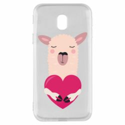 Чохол для Samsung J3 2017 Lama with heart