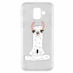 Чохол для Samsung A6 2018 Lama Yoga