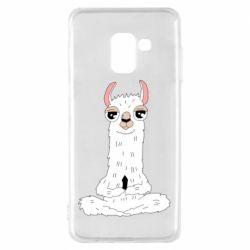 Чохол для Samsung A8 2018 Lama Yoga