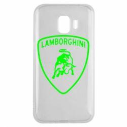 Чохол для Samsung J2 2018 Lamborghini Auto