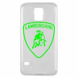 Чохол для Samsung S5 Lamborghini Auto