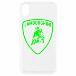 Чехол для iPhone XR Lamborghini Auto