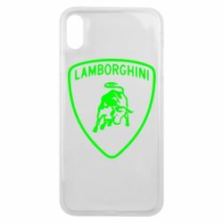 Чохол для iPhone Xs Max Lamborghini Auto