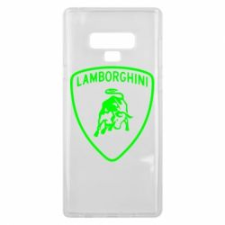 Чохол для Samsung Note 9 Lamborghini Auto