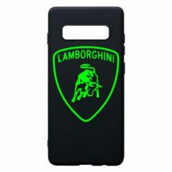 Чохол для Samsung S10+ Lamborghini Auto