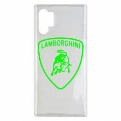 Чохол для Samsung Note 10 Plus Lamborghini Auto