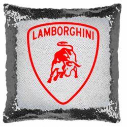 Подушка-хамелеон Lamborghini Auto