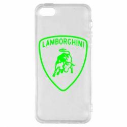 Чохол для iphone 5/5S/SE Lamborghini Auto