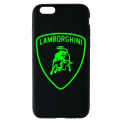 Чехол для iPhone 6/6S Lamborghini Auto