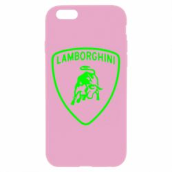 Чехол для iPhone 6 Plus/6S Plus Lamborghini Auto