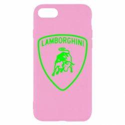 Чехол для iPhone 8 Lamborghini Auto