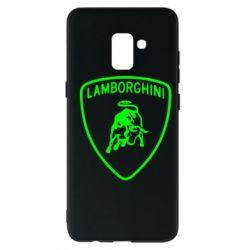 Чохол для Samsung A8+ 2018 Lamborghini Auto