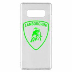 Чохол для Samsung Note 8 Lamborghini Auto
