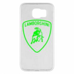 Чохол для Samsung S6 Lamborghini Auto