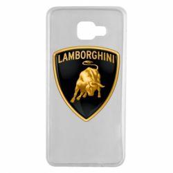 Чохол для Samsung A7 2016 Lamborghini Logo