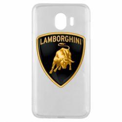 Чохол для Samsung J4 Lamborghini Logo