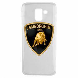 Чохол для Samsung J6 Lamborghini Logo
