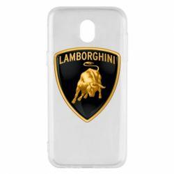 Чохол для Samsung J5 2017 Lamborghini Logo
