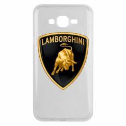 Чохол для Samsung J7 2015 Lamborghini Logo